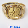 Vintage Mens OMEGA SEAMSTER DAY DATE Automatic Watch 1970s Cal 1020* SERVICED