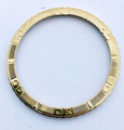 Genuine 18k ROLEX Datejust Turn-O-Graph Bezel for Ref. 16013* EXLNT