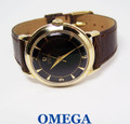 Solid & Heavy 14k OMEGA  Automatic Watch 1950s Cal 354 EXLNT Condition* SERVICED