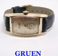 Vintage 10k GF GRUEN CURVEX Mens Winding Watch Cal 439 c.1940s* EXLNT* SERVICED