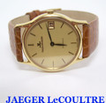 Solid 18k JAEGER LeCOULTRE Automatic Watch Ref.5001.21* EXLNT* SERVICED* RARE