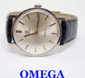 S/Steel OMEGA GENEVE Winding Watch 1960s Cal 601 *EXLNT Condition* SERVICED