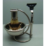 Comoy Shave Set Chrome