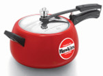 Hawkins Ceramic Coated  Contura Pressure Cooker 5litre (Tomato Red)