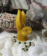 Silicone Bunny Rabbit Head Candle Mold