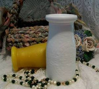 Silicone Milk Bottle Candle Mold