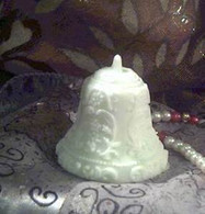Silicone Wedding Holiday Bell Soap Candle Mold #2