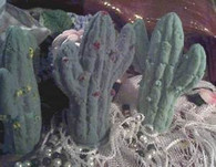 Silicone Standing Saguaro Cactus Soap Candle Mold