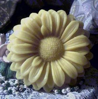 Silicone Sunflower #2  Floater Candle Mold HUGH