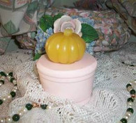 Silicone Small Pumpkin Mold Candle Soap Molds A