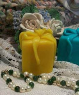 Silicone Small Gift Present With Bow Soap Candle Mold