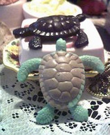 Silicone Sea Turtle Soap Candle  Mold LARGE