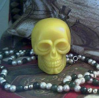 Silicone Skull Soap Candle Mold #3