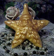 Silicone Santa Star Soap Candle Ornament Tart Mold