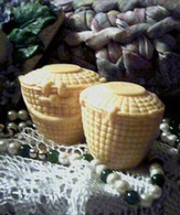 Silicone Nantucket Weave Soap Candle Mold