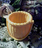 Silicone Nantucket Weave Hollow Basket Soap Candle Mold
