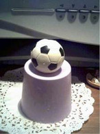 Silicone Mini Soccer Ball Soap Candle Tart Mold #1