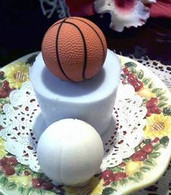 Silicone Mini Basketball  Mold Candle Soap Molds #1