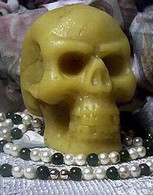 Silicone Large Skull Soap Candle Mold