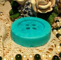 Silicone Large Button 4 Holes Soap Candle Tart Mold