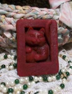 Silicone Kitty Cat Soap Bar Mold