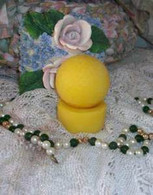 Silicone Golf Ball Tealight Candle Mold