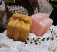 Silicone Gift Present  With Bow Candle Mold