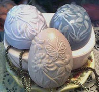 Silicone Flowers And Butterfly Egg Candle Soap Mold