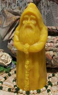 Silicone Father Christmas Victorian Santa Candle Mold