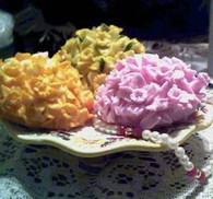 Silicone Daffodil Cluster Soap Candle Mold