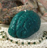 Silicone Large Zombie Brain Candle Mold