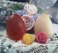 Silicone Egg Soap Candle Mold