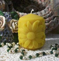 Silicone Small Daisy Sunflower Flower Pillar Candle Mold