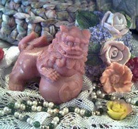 Silicone Chinese Foo Dog Lion Dragon Soap Candle Mold
