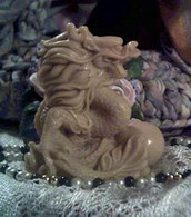 Silicone Chinese Foo Dog Dragon Soap Candle Mold  #2