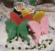 Silicone Butterfly Soap Candle Mold 2010
