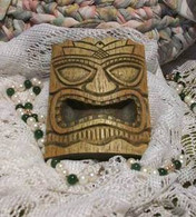 Silicone TIKI l Mask Soap Candle Tart Mold