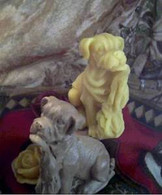 Silicone Boxer Mastiff Puppy Dog Soap Candle Mold