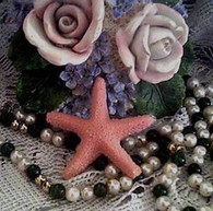 Silicone  Tiny Starfish Soap Candle Tart Mold