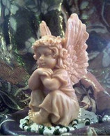 Silicone Angel Cherub Candle Soap Mold LARGE