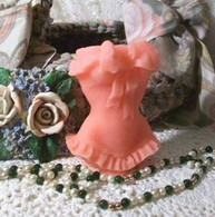 Silicone  Corset Candle Mold
