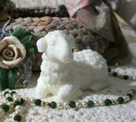 Silicone Lamb Sheep Soap Candle Mold
