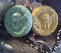 Cherub Angel Soap Candle Mold