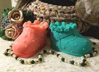 Silicone Baby Shoe Soap Candle Mold