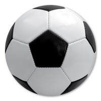 Soccer, also called Association Football or The Beautiful Game was first played in London in 1863.  It has evolved into the world's most popular sport. Displaying this magnet is a great way to show support for soccer, whether you coach a team, are a proud parent, or play on the team!
