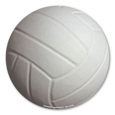 Volleyball is a combination of handball and tennis. It doesn't matter if you are a hitter or a setter, our 3D volleyball magnet will show your commitment to the sport you love!
