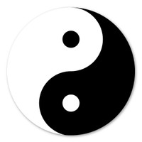 Whether it is good vs evil, dark vs light, or male vs female, The Yin and Yang represents two halves that together complete wholeness for the perfect balance.