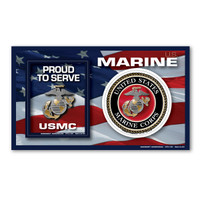 USMC Marine Photo Frame Magnet