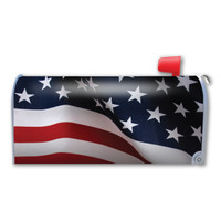 American Flag Mailbox Cover Magnet