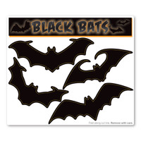 Large Black Bats Magnet Pack